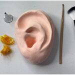 紙粘土で作った耳を使って耳掃除ロールプレイングしてみた。